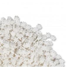 Suiker sneeuwvlokken wit
