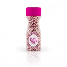 Parels metallic roze 4mm