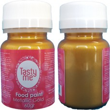 Food Paint Metallic Gold  60 gram (Tasty Me)