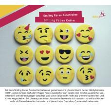 Dekofee Smiling Faces smileys uitsteker
