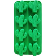 Siliconen Cactus ijsblokjes - Chocoladevorm  - Fondant - Bonbonvorm - Rolfondant