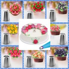 Spuitmondjes Nozzles voor bloemen set 6st