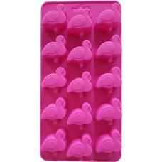Siliconen Flamingo ijsblokjes - Chocoladevorm  - Fondant - Bonbonvorm - Rolfondant