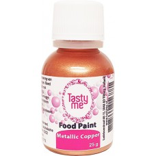 Food Paint Metallic Copper 25 gram (Tasty Me) OP = OP THT: 06/21