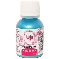 Food Paint Metallic Blue 25 gram (Tasty Me)