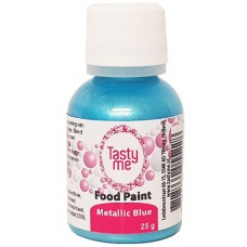 Food Paint Metallic Blue 25 gram (Tasty Me)