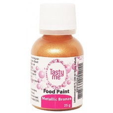 Food Paint Metallic Bronze 25 gram (Tasty Me)