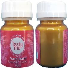 Food Paint Metallic Gold  60 gram (Tasty Me)