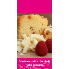 Framboos - Witte Chocolade (cup)cake mix 5kg (Tasty Me)