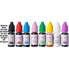 Set van 8 Voedsel kleurstof