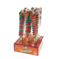 Twist Pop Rainbow lollies