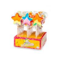 Star Pop Rainbow lollies