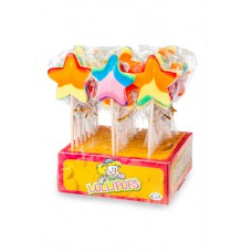 Star Pop Rainbow lollies