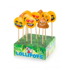 Emoticon Pops lollies