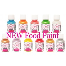 Food Paint Starterset  Metallic 7 x 25 gram (Tasty Me) set 1