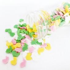 Suikerdecoratie Konijntjes 4-kleur