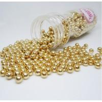 Suikerparel Metallic Goud 5mm